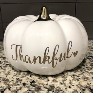 Martha Stewart Thankful pumpkin